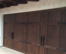 image of garage door installation