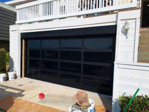 La Jolla Garage Door Install Frosted Doors