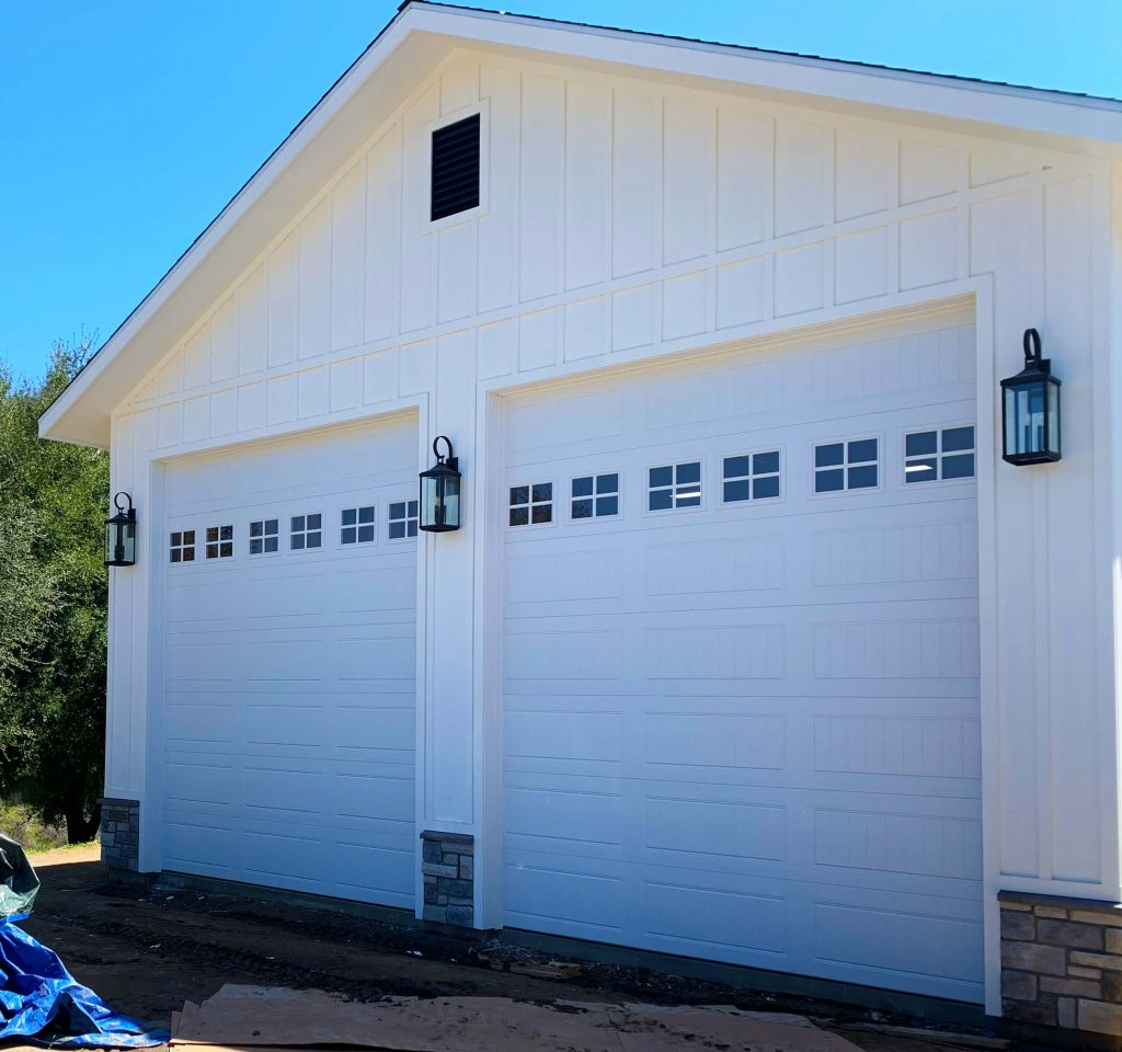 Descanso Garage Door Install