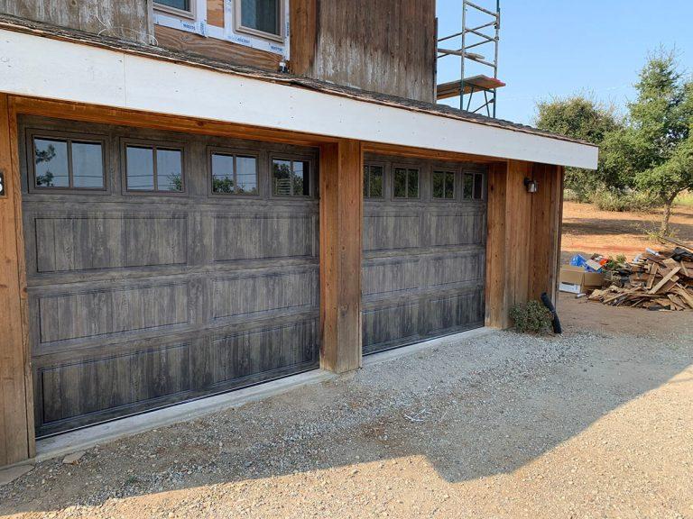 Ramona Garage Door Install Slate
