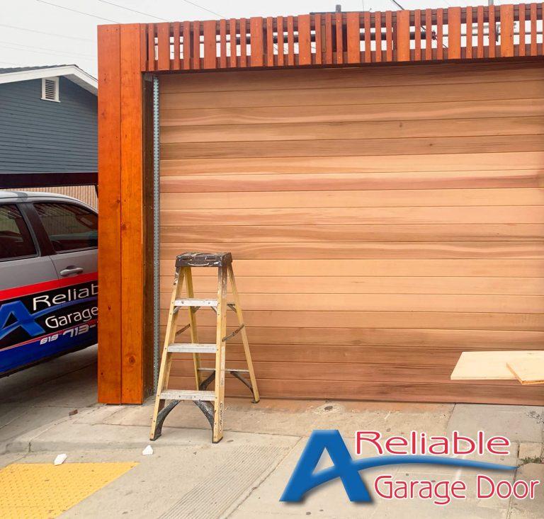 red cedar garage doors vista