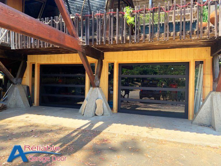 Full View Garage Door Vista
